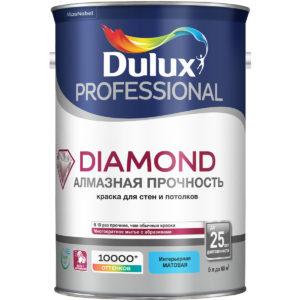 Краска с матовым эффектом Dulux Trade Даймонд 10 литров