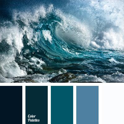палитра синего
