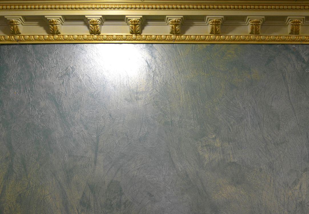 перламутровая краска в интерьере