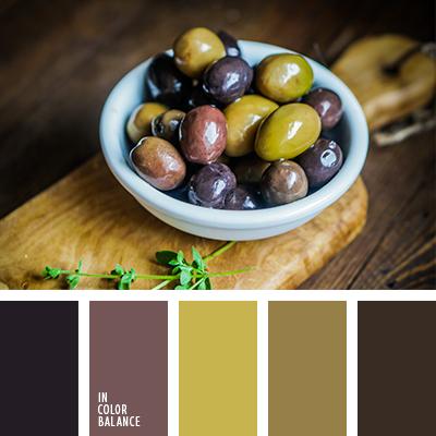 Цвет оливки
