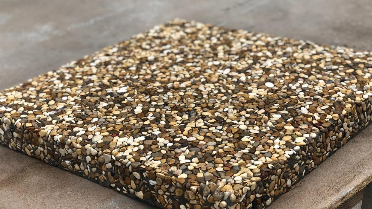 мытый бетон плита