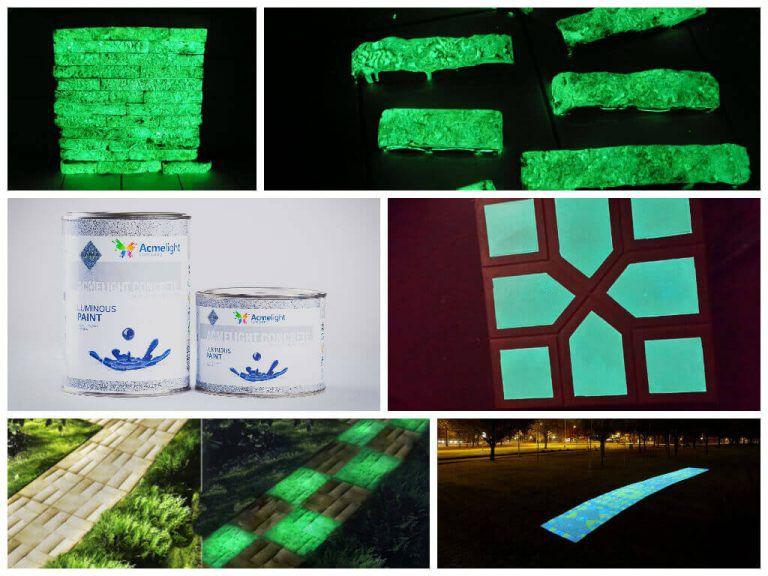 Применение светоотражающей краски
