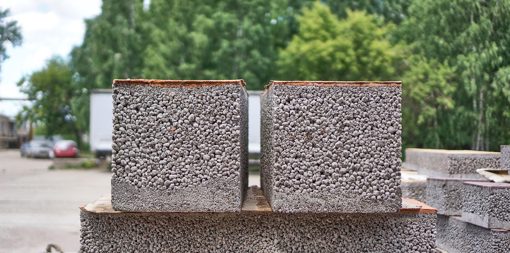 дренажный бетон блоки