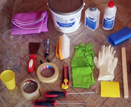 нструменты для нанесения жидкого акрила