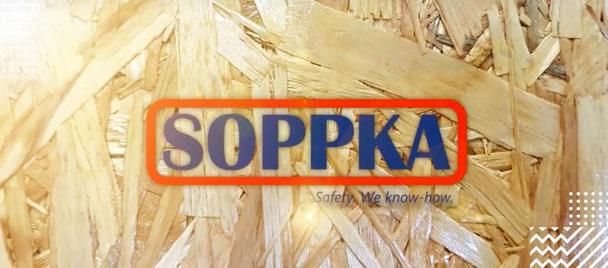 """Краска интерьерная огнебиозащитная для плит OSB """"SOPPKA OSB"""