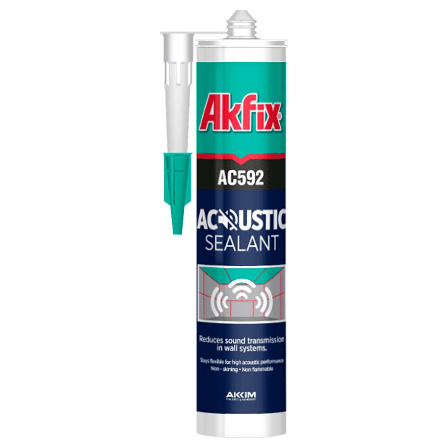 аkfix - AC592 Акустический герметик звукоизоляционный