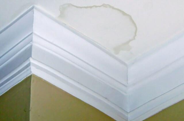 пятно на потолке