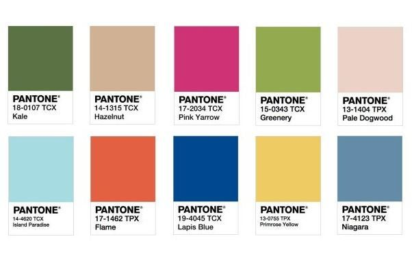 популярные цвета