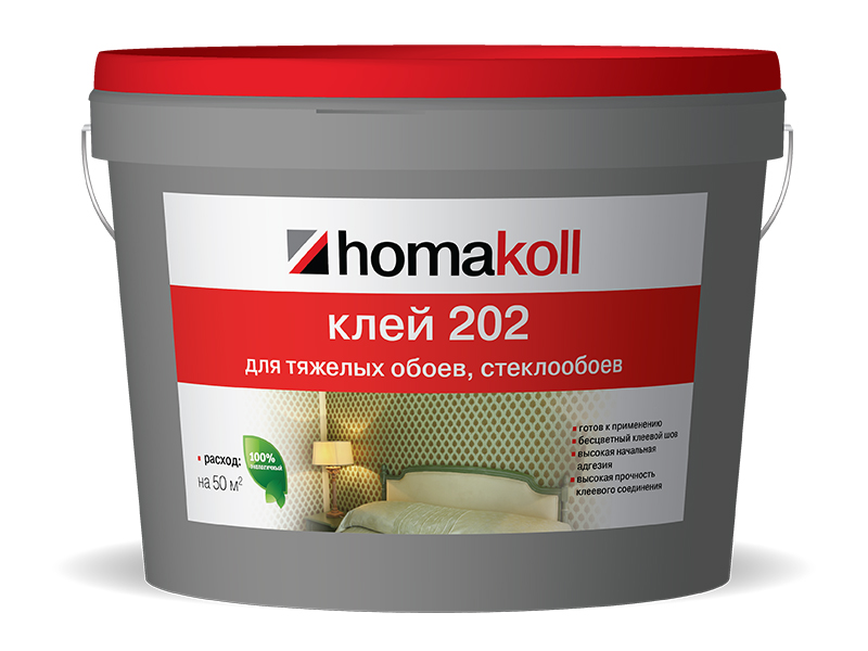 клей для стеклообоев Homakoll 202