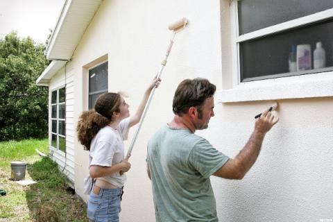 фасадная покраска