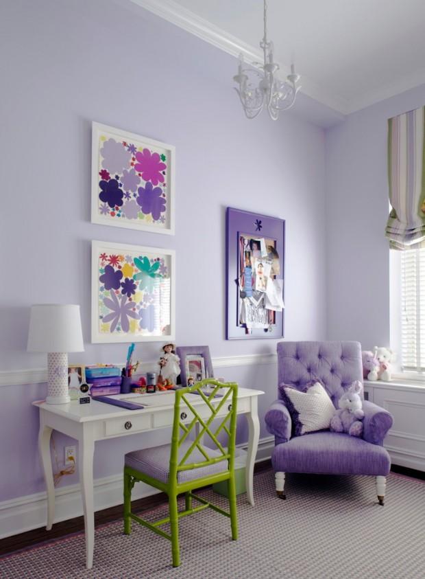 лавандовая мебель