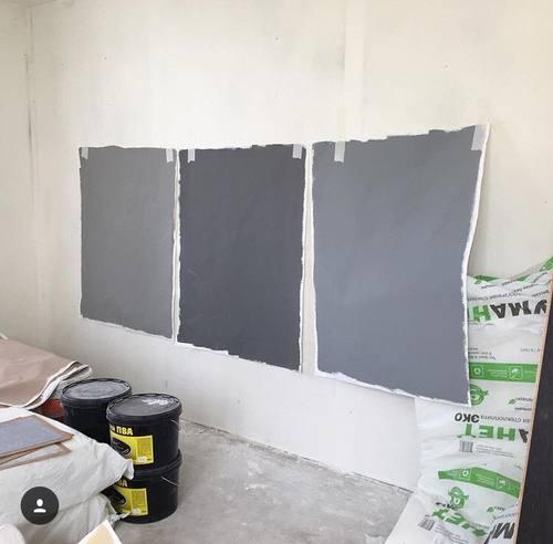 выкрасы на стене