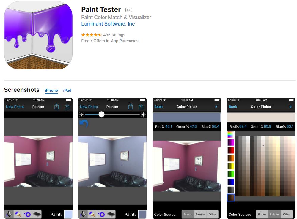 paint tester app