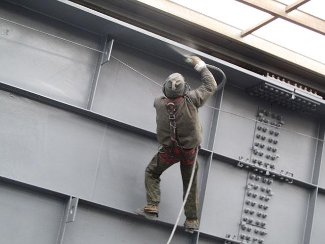 грунтование металлоконструкции