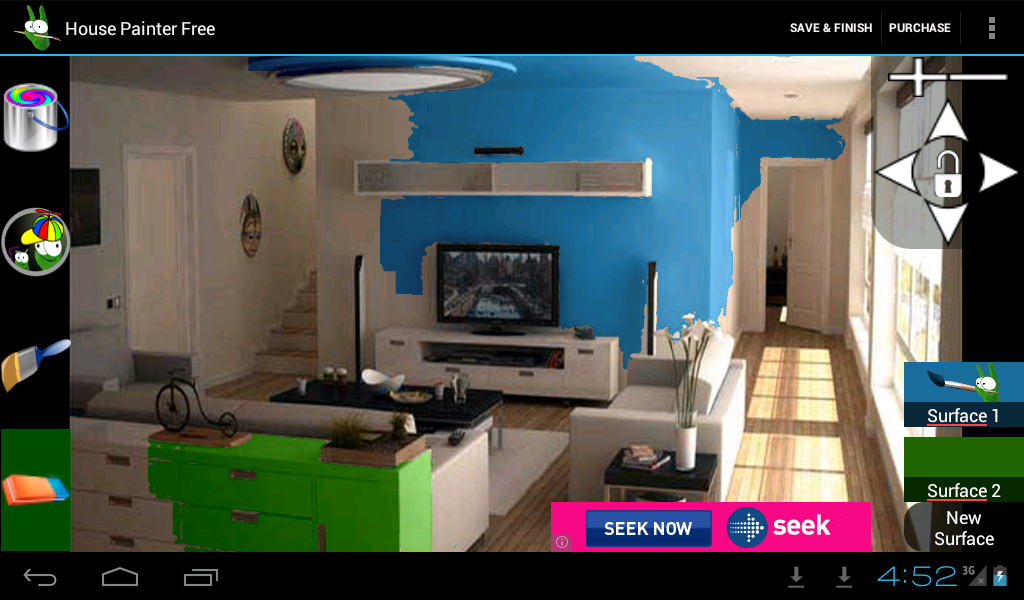 House Painter Free app