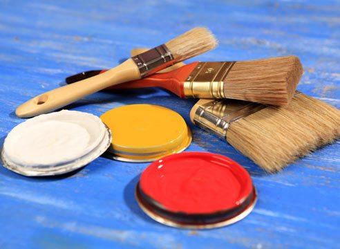 кисти и краска