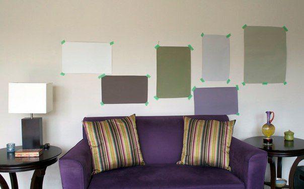 выкрасы для стен