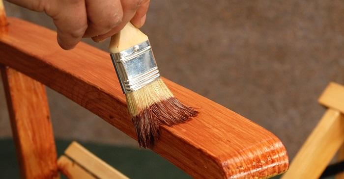 Декоративная обработка деревянного изделия