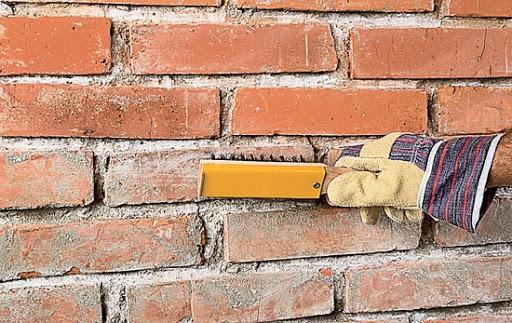 чистка стены