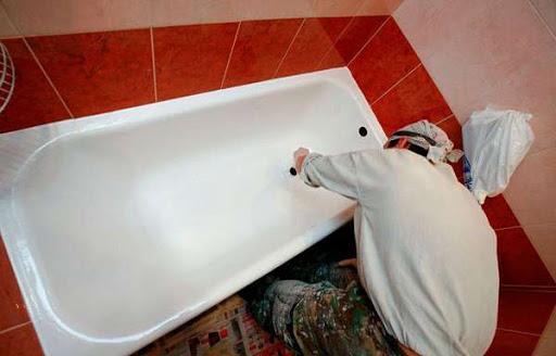 эмаль в ванной