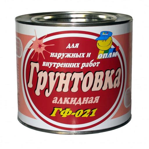 ГРУНТОВКА ГФ-021 алкидная