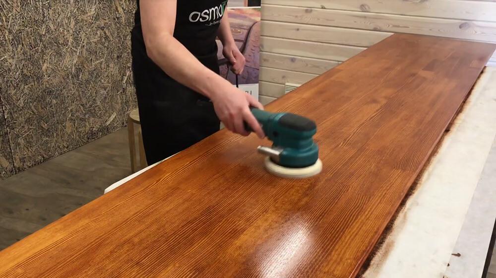 подготовка столешницы к лакированию