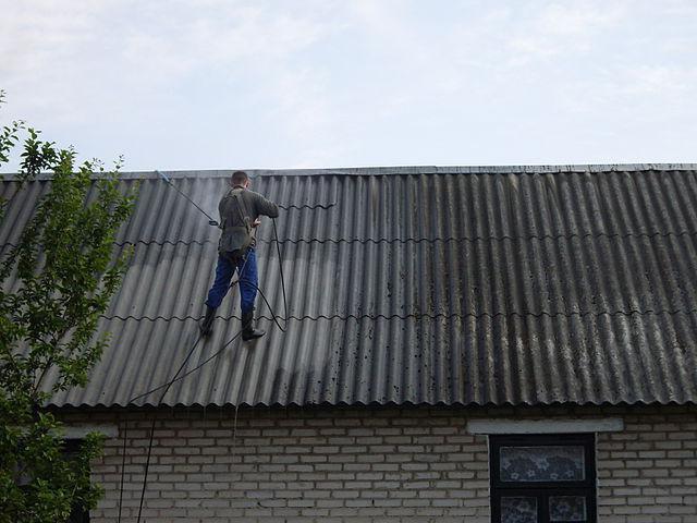 подготовка крыши к окрашиванию