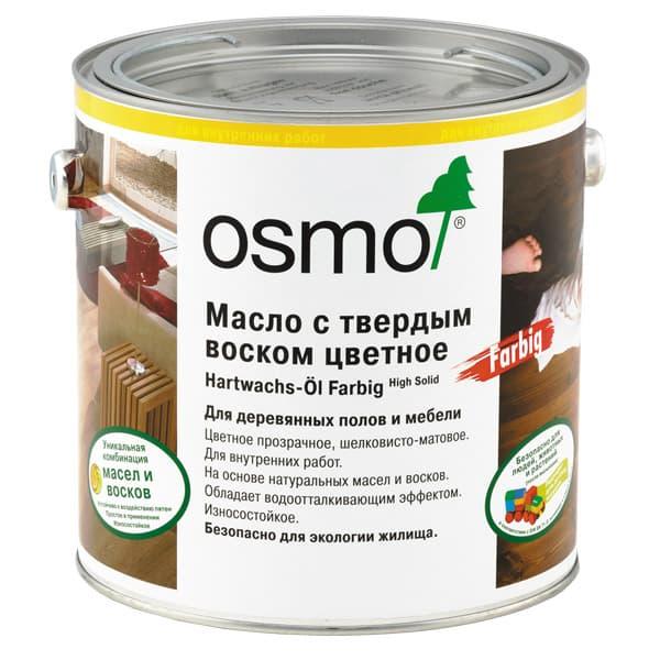 Масло воск для деревянных полов Osmo