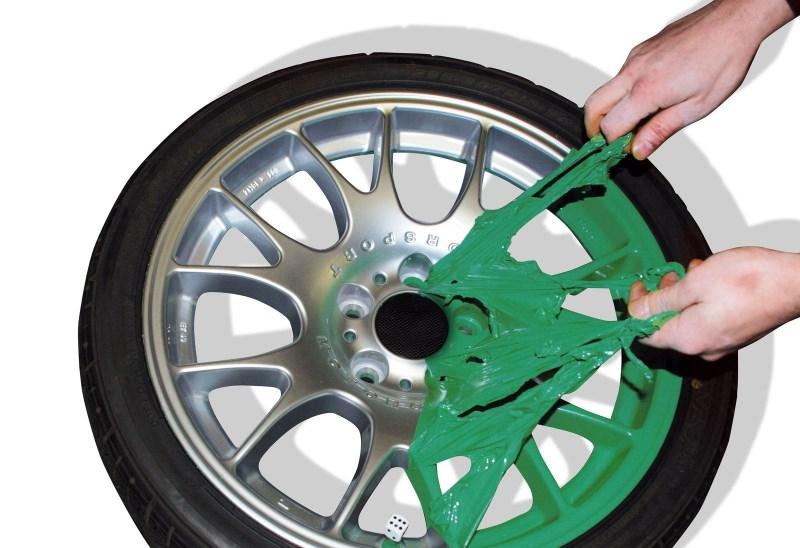 Резиновая краска для дисков авто