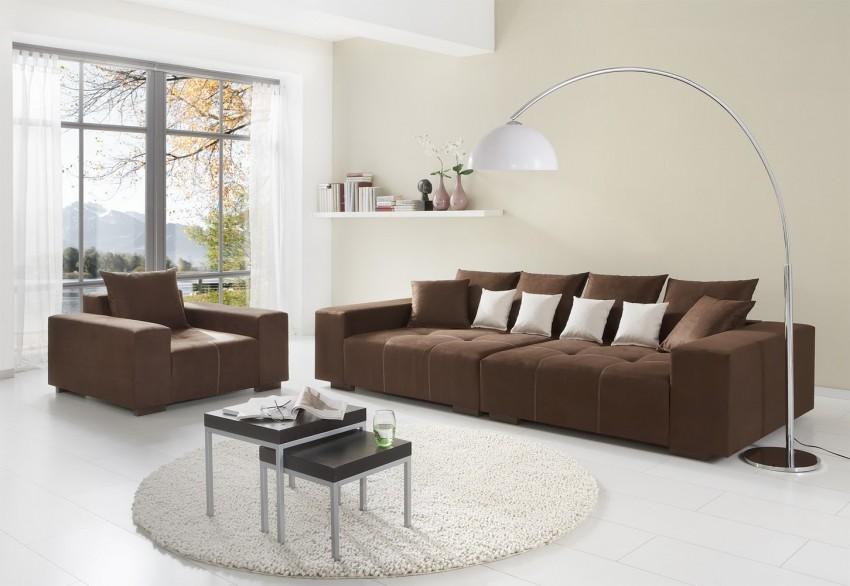 шоколадная мебель в интерьере