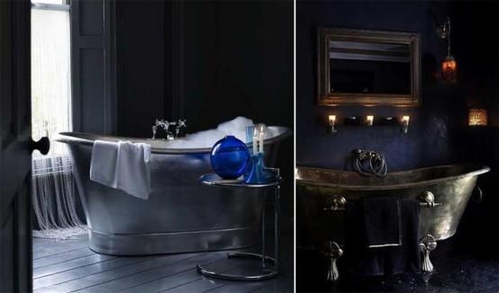 ванная в стиле готика