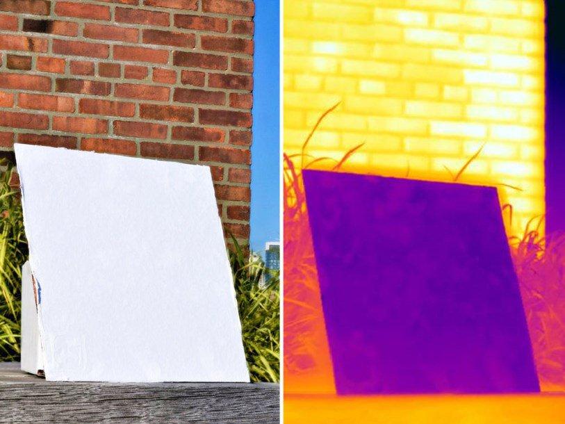 принцип работы охлаждающей краски