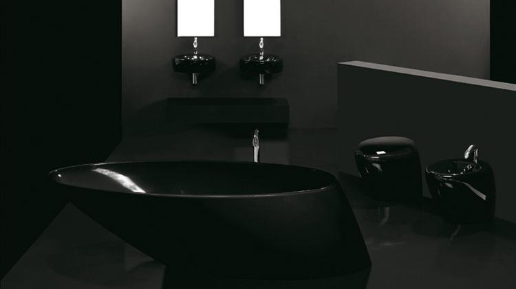 черная сантехника
