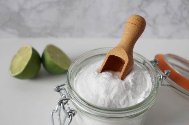 соль и сок лайма для удаления ржавчины
