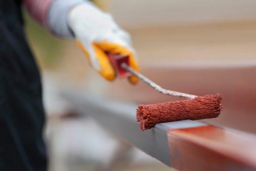 Расход краски по металлу