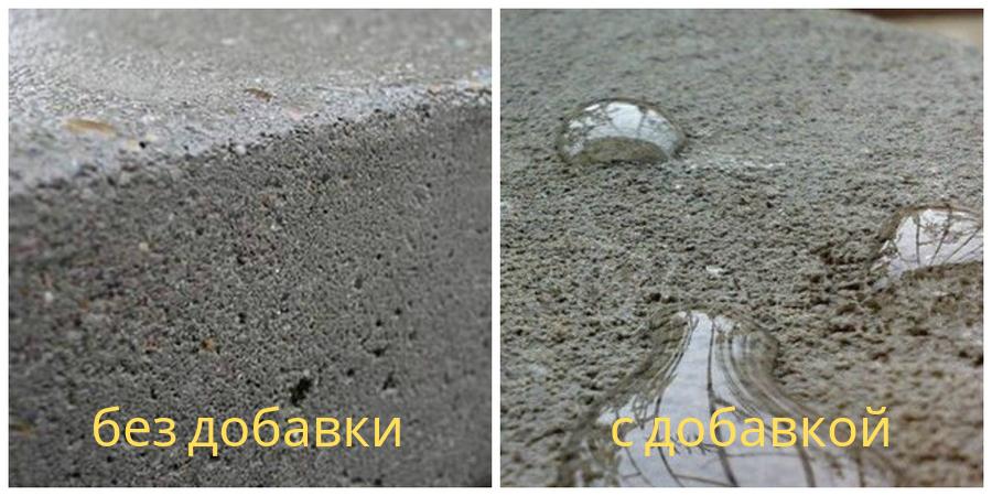 добавки в бетон преимущества