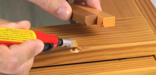 Реконструкция деревянных изделий с помощью воска