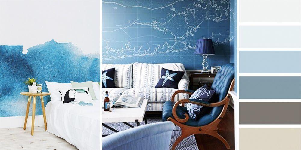 морской стиль комнаты