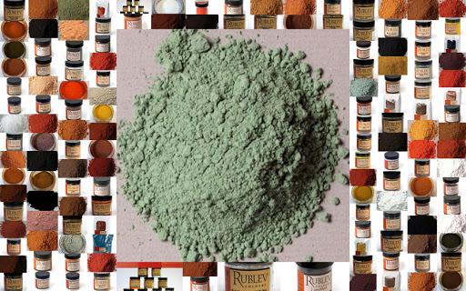 натуральные минеральные пигменты для красок