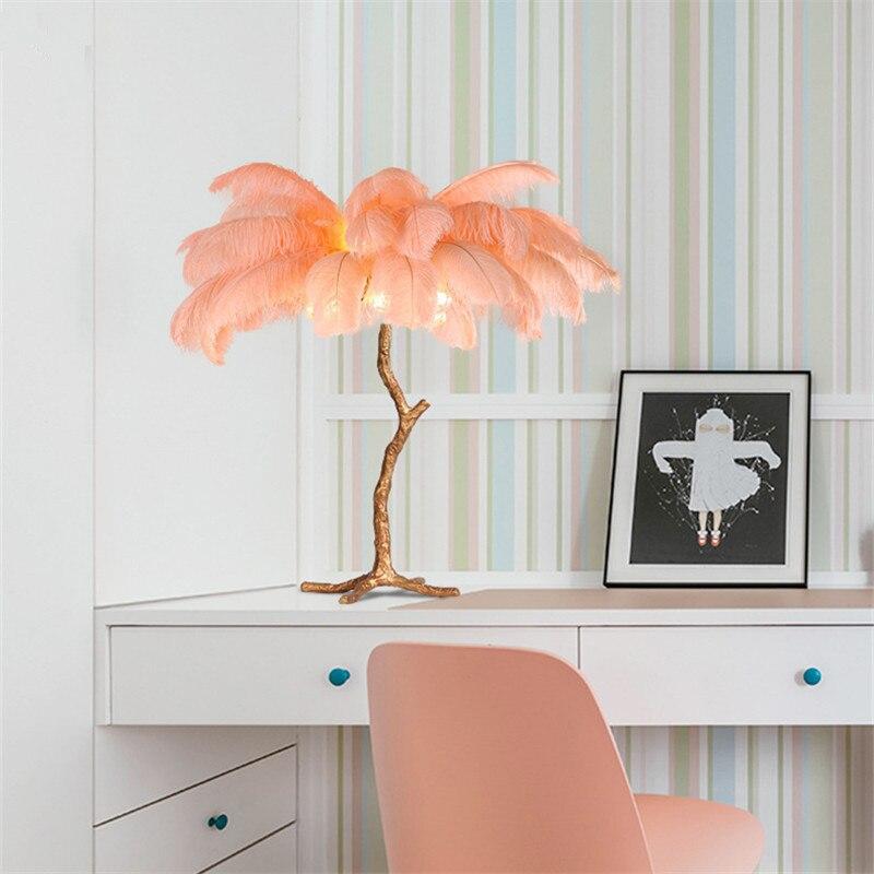 персиковые лампы в интерьере