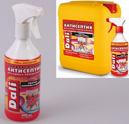 Антисептическое средство ДАЛИ для обработки стен