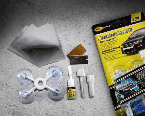 Комплект для ремонта сколов Windshield Repair Kit
