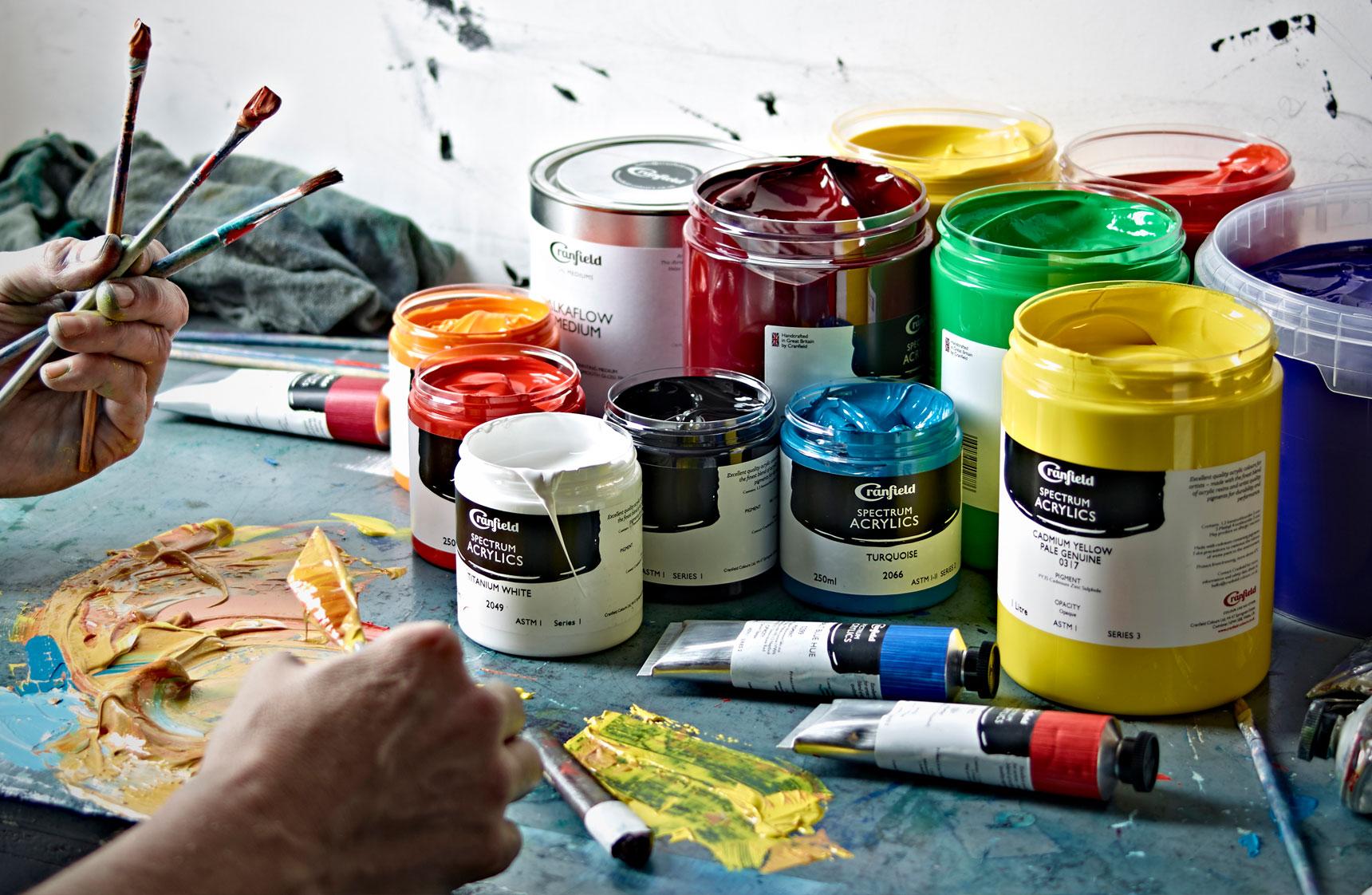 краска для росписи стен акриловая