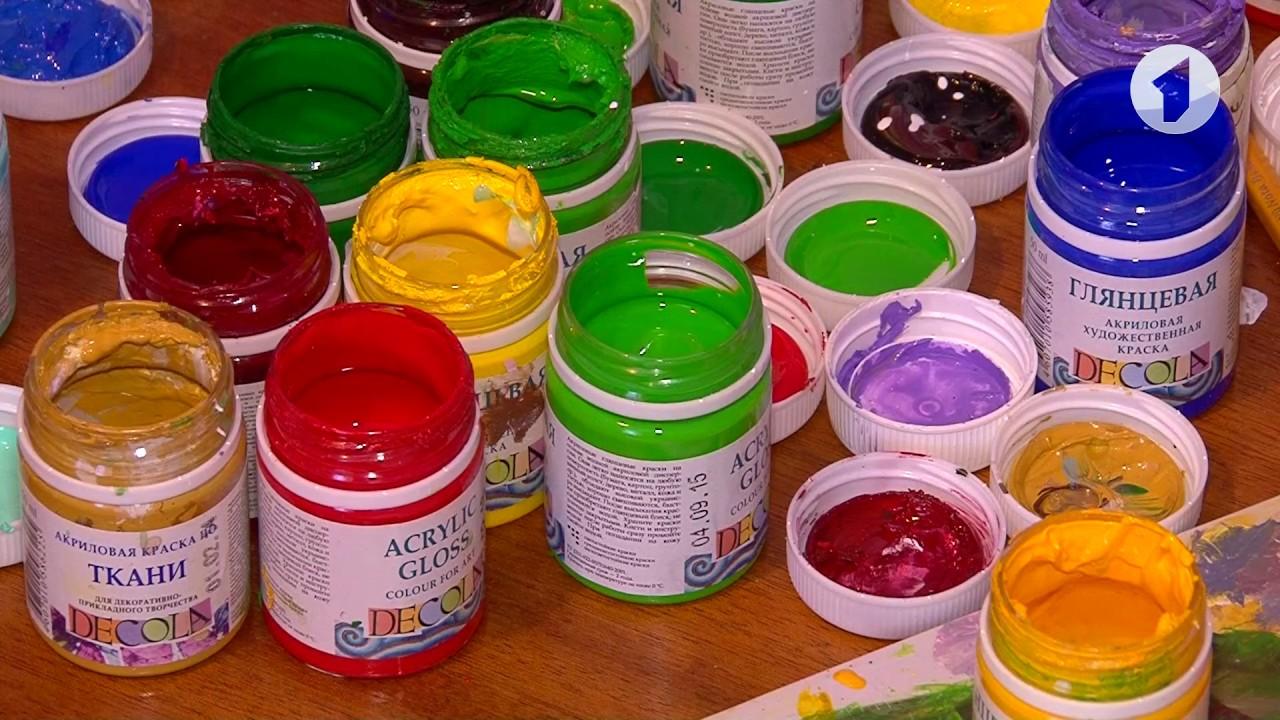 акриловая краска для росписи стен