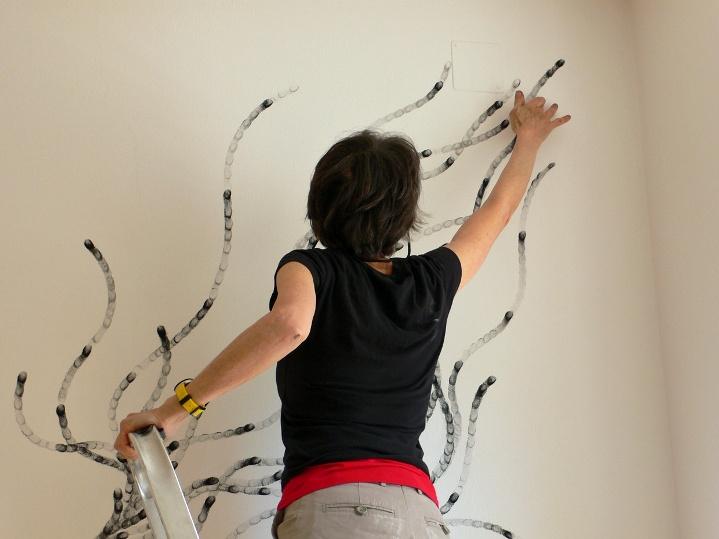 роспись стен руками